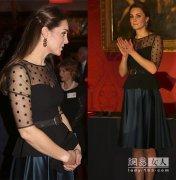 凯特王妃二胎大肚照,英国庆祝凯特王妃产女,凯特戴安娜谁更漂亮图