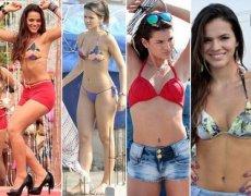 巴西为何盛产模特美女热情洋溢,巴西球星内马尔女友是谁