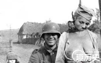 二战后苏军在德国的兽性图,德国纳粹对苏联女人,二战苏军妇女暴行