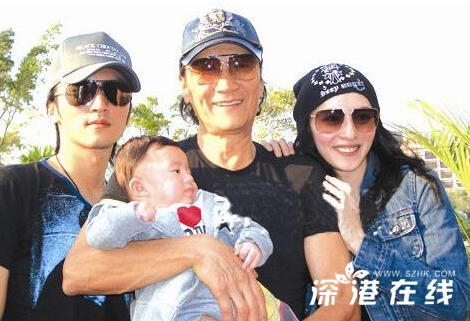 谢霆锋张柏芝儿子的家,张柏芝带儿子见谢霆锋,张柏芝大儿子最新照
