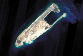中国南海造岛全貌最新消息图片
