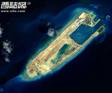 南海岛礁实际控制图扩建最新进展(2)