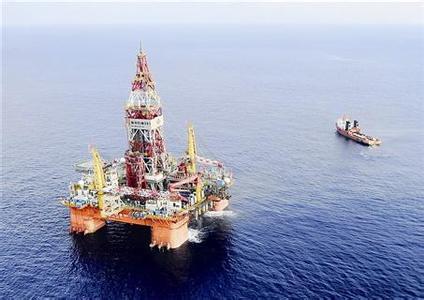 """""""海洋石油981""""号是目前南海诸国中唯一"""