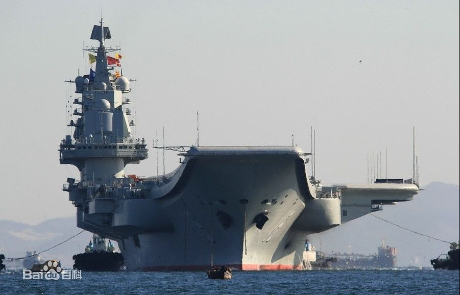 中国航母辽宁舰有多大