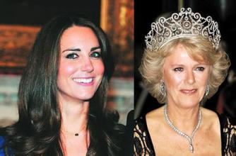 凯特王妃与卡米拉关系,卡米拉为什么不是王妃年轻照片 2