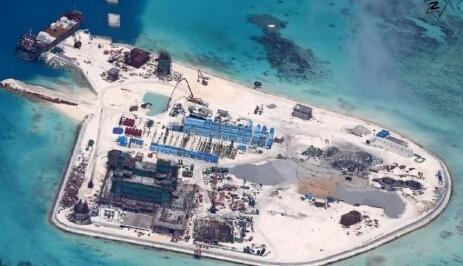 南海填岛最新进展图 南海填岛工程的成本是多少