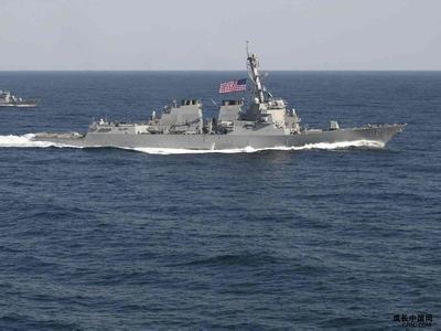 外媒评美军舰进入中国南海12海里
