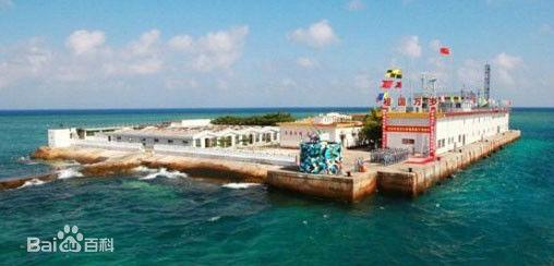 南沙永暑礁建人工岛有多大面积,南沙永暑礁填海规划图
