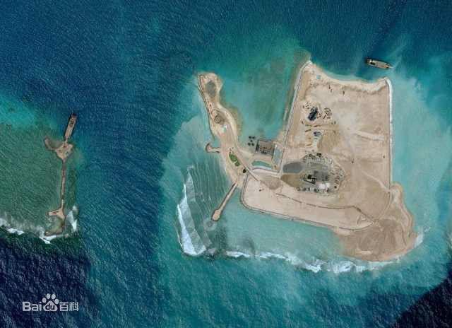 美济礁面积已近六平方公里