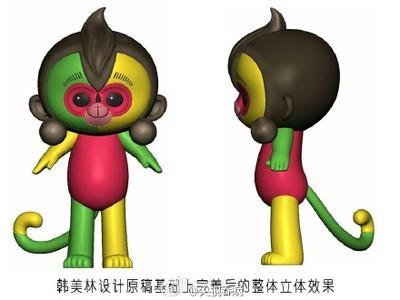 2016猴年春晚吉祥物曝光恶搞