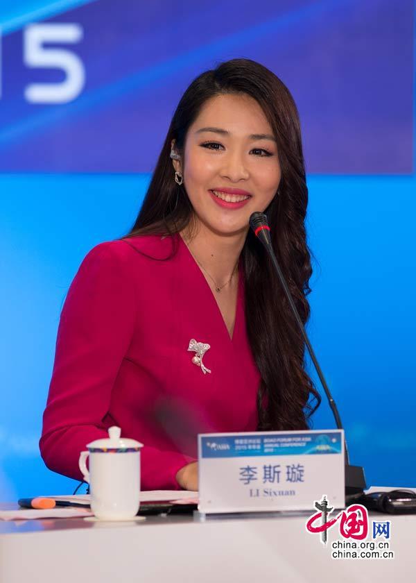 央视女主播李斯璇个人资料简历真实身高 李思璇生活照