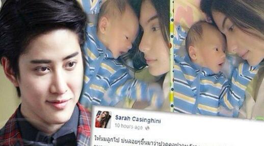 泰国mike前女友sara个人资料产子真假 泰国mike整容前后对比照片 2图片