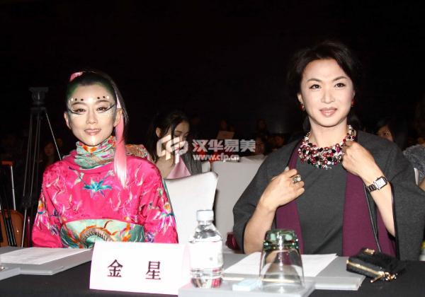 杨丽萍金星吵架对骂原因视频 金星杨丽萍私下闹翻不和吗有何恩怨