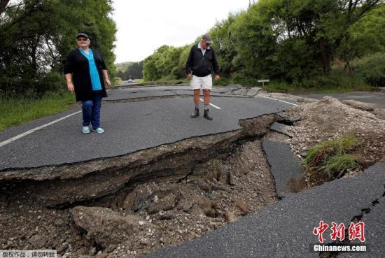 新西兰7.5级强震最新消息 李冰冰遇地震飞奔下楼逃命现场图