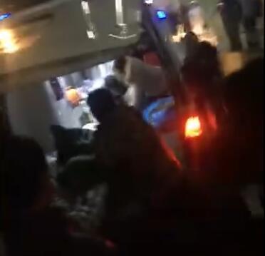 河北保定坠井男童营救变医闹?家属医闹暴打医院司机现场视频图片