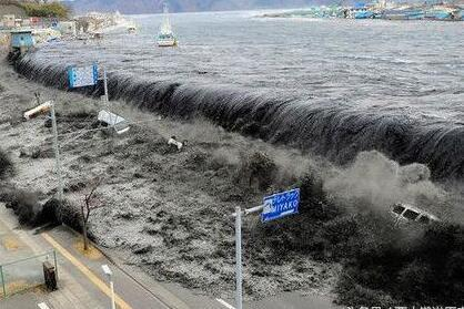 日本福岛再次发生7.4级地震引发海啸现场惨烈图,对中国有影响吗?