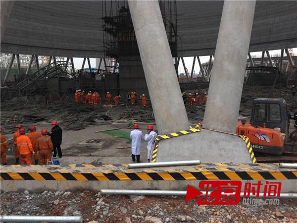 江西电厂事故救援现场曝光多少人遇难为什么会坍塌事故原因揭秘