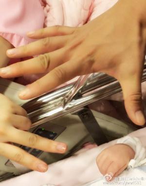 陈妍希提前生娃宝宝性别名字揭秘 陈晓陈妍希一家三口合照曝光