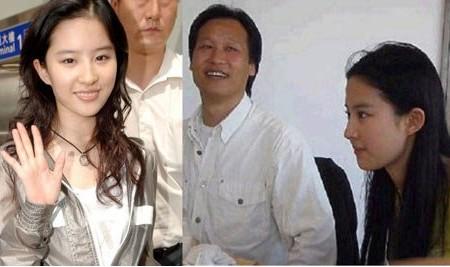 刘亦菲是男是女揭真相图片,刘亦菲是怎么被干爹捧红的?