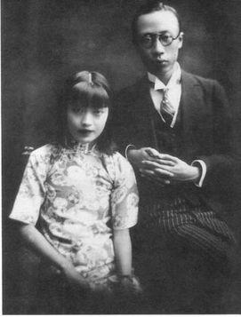中国末代皇帝溥仪妻子婉容资料图片,皇帝溥仪老年照片怎么死的
