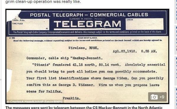 泰坦尼克号救援电报完整内容惊人,泰坦尼克被金字塔木乃伊诅咒吗