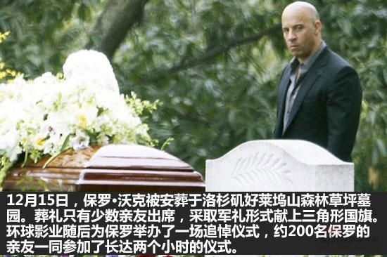保罗沃克被活活烧死车内23秒视频,保罗沃克为何军礼下葬没有逃生