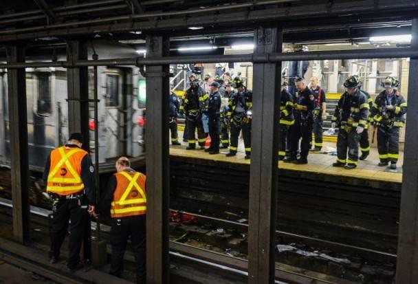 华裔女生索菲跌落地铁现场全过程视频,索菲手脚被碾断惨不忍睹图
