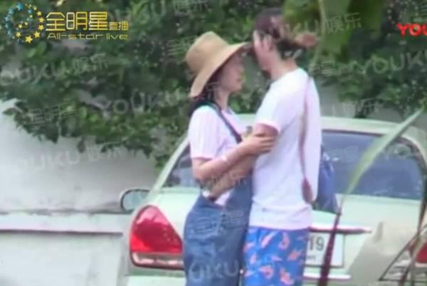 白百合张爱朋当街摸臀调情视频,白百合张爱朋算命八字合吗会结婚