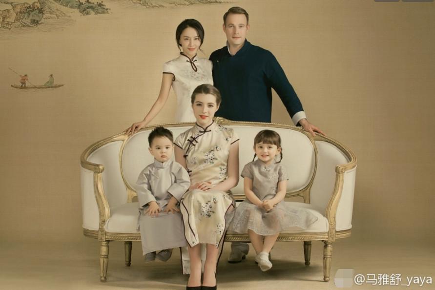 马雅舒和老公罗伯特是二婚前妻是谁?罗伯特大女儿好漂亮跟谁生活