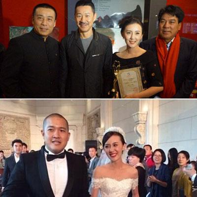 张丰毅与儿媳同台无交流好尴尬照片,张丰毅二婚和霍凡有几个孩子