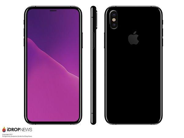 iphone8外观图多少钱什么时候上市?iphone8哪些颜色是无线充电吗