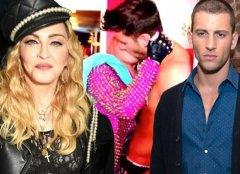 麦当娜和小27岁男友激吻互摸动图,麦当娜私生活好乱共有多少男友