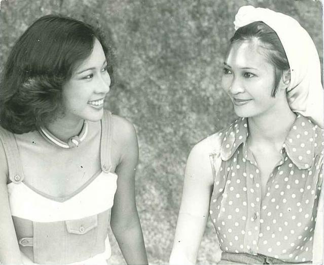 朱玲玲面相不是一般好年轻时照片,罗康瑞为何深爱朱玲玲对她好吗