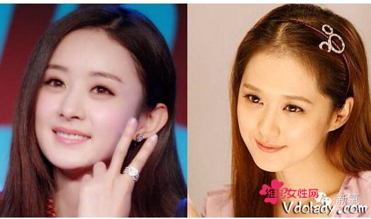 赵丽颖与张娜拉相似度对比照谁漂亮 赵丽颖的偶像是张娜拉真的吗
