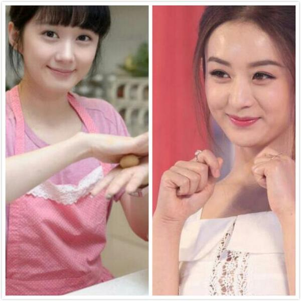 赵丽颖与张娜拉相似度对比照谁漂亮 赵丽颖的偶像是张娜拉真的吗图片