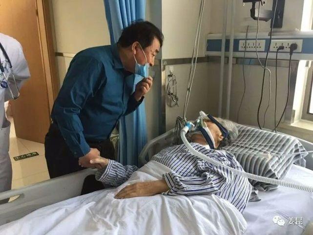 唐杰忠去世前最后时刻姜昆探视病床照,唐杰忠为什么收徐锦江为徒