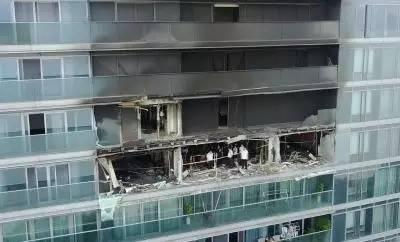 杭州被烧死豪宅女主人朱小贞及儿女灵堂照,物业为什么拦着不救人