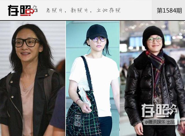 扒机场私服邋遢不打理的女明星,机场照太随意不注意形象的女明星
