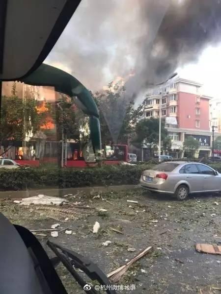 杭州餐馆爆炸伤者恐怖经历为什么死者是路人?燃气怎么泄露被点燃