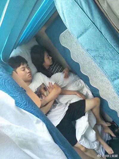 陈新颖焦可然同睡一床缠绵照片, 扒焦可然前男友整容打架殴黑历史