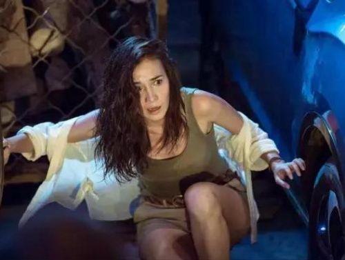 战狼2女主卢靖姗个人资料是混血儿吗, 战狼2原女主角是谁被换原因