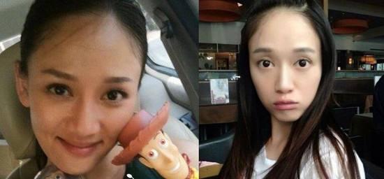 陈乔恩卸妆后的照片素颜很丑图 陈乔恩整容了吗前后对比曝光