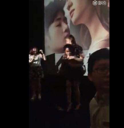 少时泰妍遭多人袭胸摸臀现场视频图, 明星被粉丝偷袭尬尴无比事件