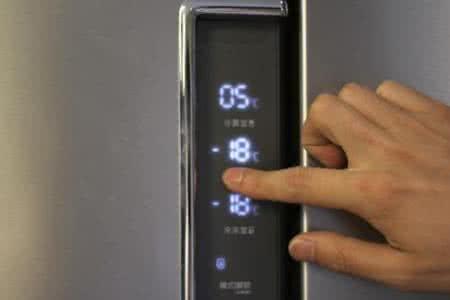 容声智能冰箱温度调节解锁步骤图解,容声冰箱不制冷的原因有三种