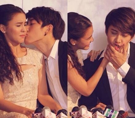 mike是不是喜欢aom公开接吻照片曝光, mike和aom李海娜是情侣吗?