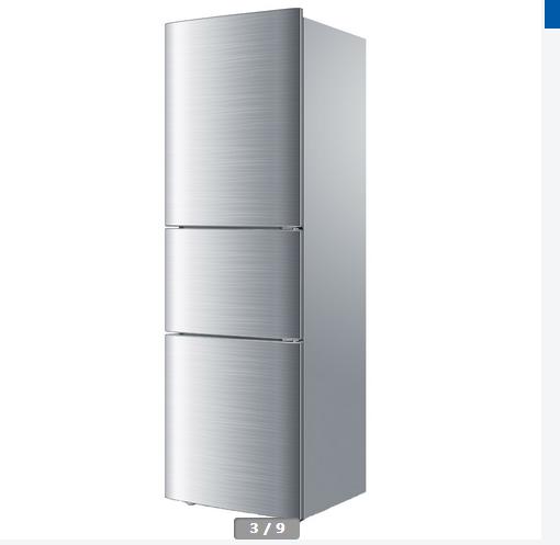 海尔三开门冰箱价格1000左右图片,海尔三开门冰箱尺寸价格表大全
