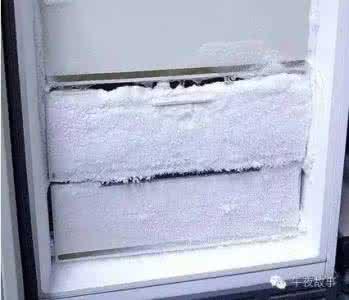 冰箱冷冻室结冰严重是什么原因?冷冻室结冰快速处理方法步骤图解