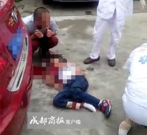 成都父亲开车撞死亲生女儿悲惨一幕监控视频, 为什么这么做原因