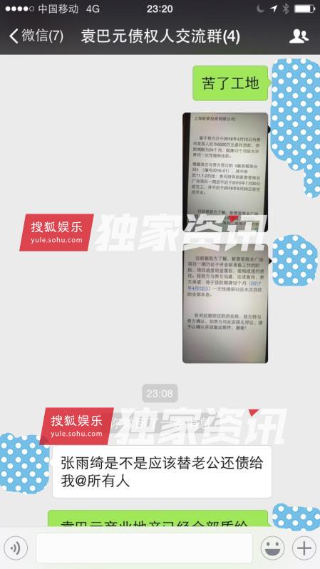 张雨绮老公袁巴元赌博欠巨债拖欠工程款始末,袁巴元最全黑料天涯