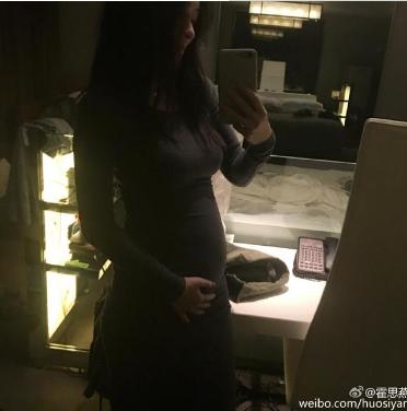 杜江霍思燕二胎女儿正面照片长得像谁多大了叫什么名字?